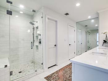 Remodeled Bright Bathroom